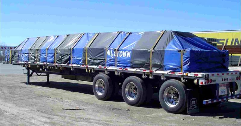 lonas para cubrir cargas de camiones transporte