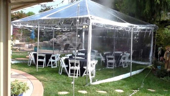 Venta de lonas transparentes econ micas a la medida for Lonas para jardin