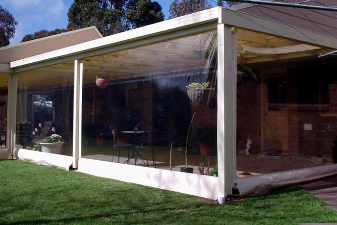 lonas transparentes para ventanas y cortinas
